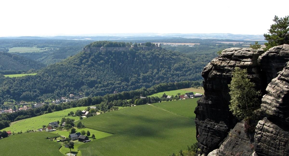 Крепость Кёнигштейн — групповая пешеходная экскурсия на